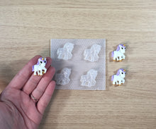 Load image into Gallery viewer, 1 inch Unicorn Plastic Mold