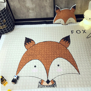 Cartoon Animal Play Mat & Animal Pillows-CloudyComfort-CloudyComfort