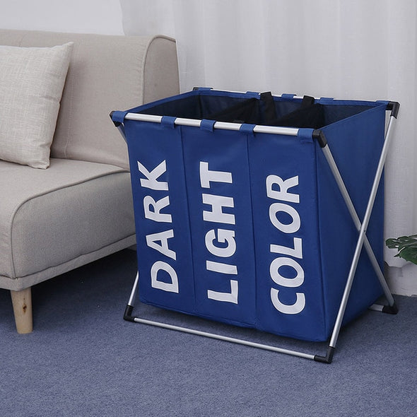 Oxford Storage laundry bag-CloudyComfort-Dark blue-CloudyComfort