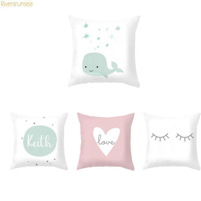 Custom Baby Cartoon Cushion-CloudyComfort-CloudyComfort