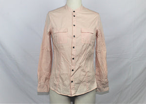 Woods London Pink Button-Down Shirt - Size: S
