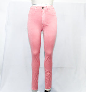 Cheap American Eagle Outfitters Pink Coral Jeggings Pants - Size 6