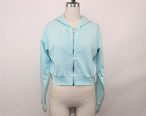 Forever 21 Mint Hoodie - Size: S
