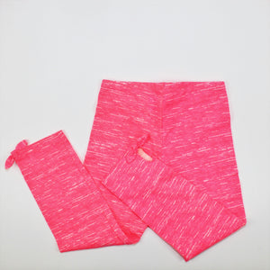Old Navy Pink Space-Dyed Leggings - Size: M