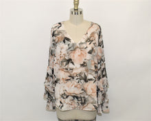 Load image into Gallery viewer, Calvin Klein Floral Printed Blouse - Size: S