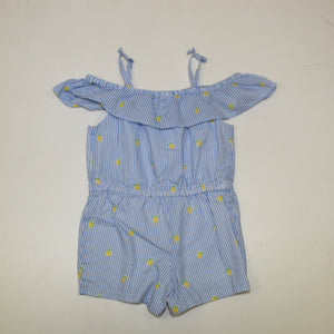 Janie and Jack Toddler Girl Romper - Size: 3