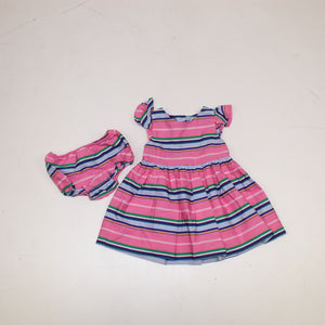 Ralph Lauren Baby Girls Dress (2pcs) - Size: 6M