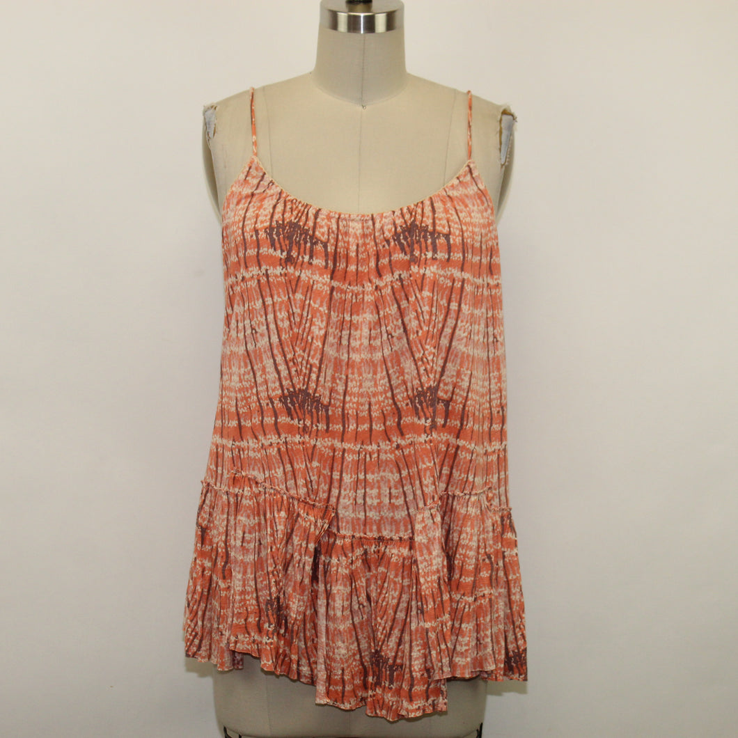 Free People Coral Top - Size: L