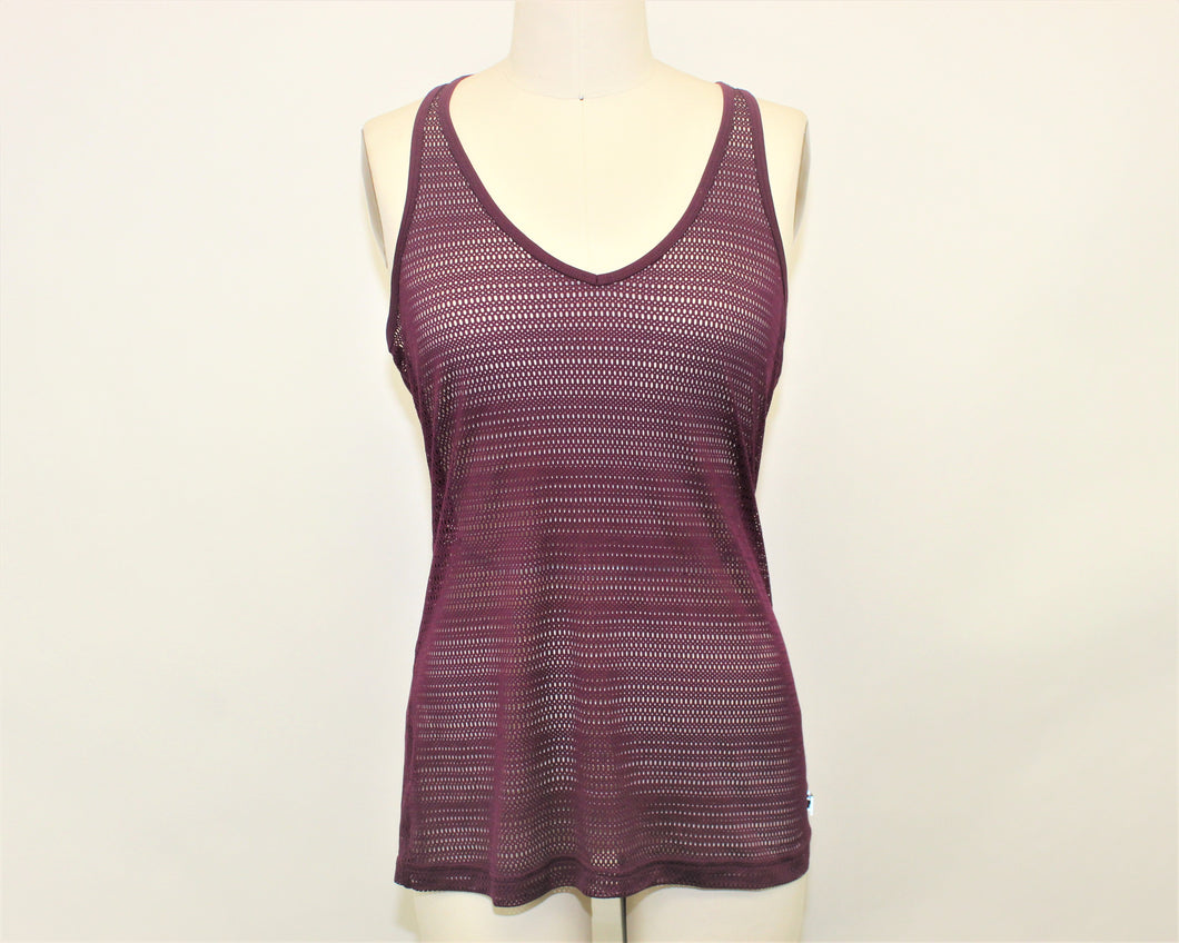 Fila Purple Racerback Active Top - Size: M