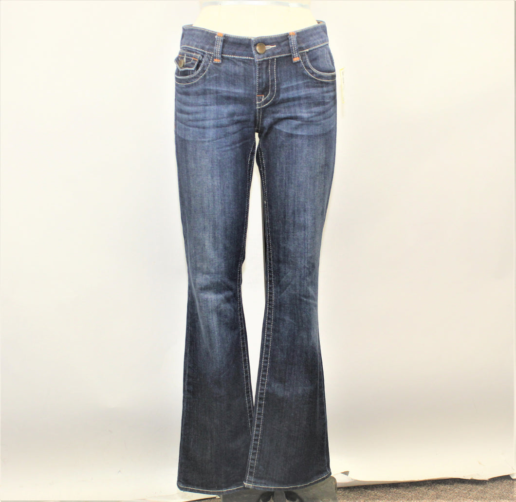 Kut from the Kloth Blue Wide Leg Jeans - Size: 4