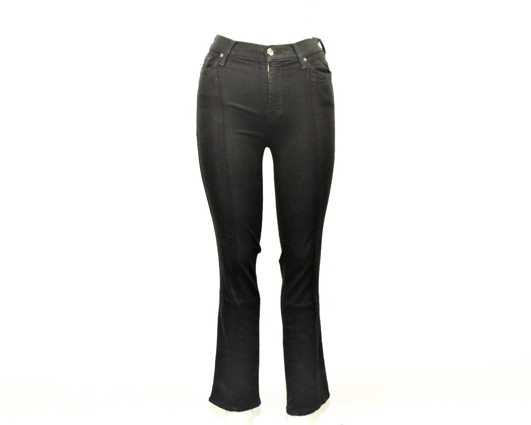 7 For All Mankind Black Sparkling Jeans - Size: 26