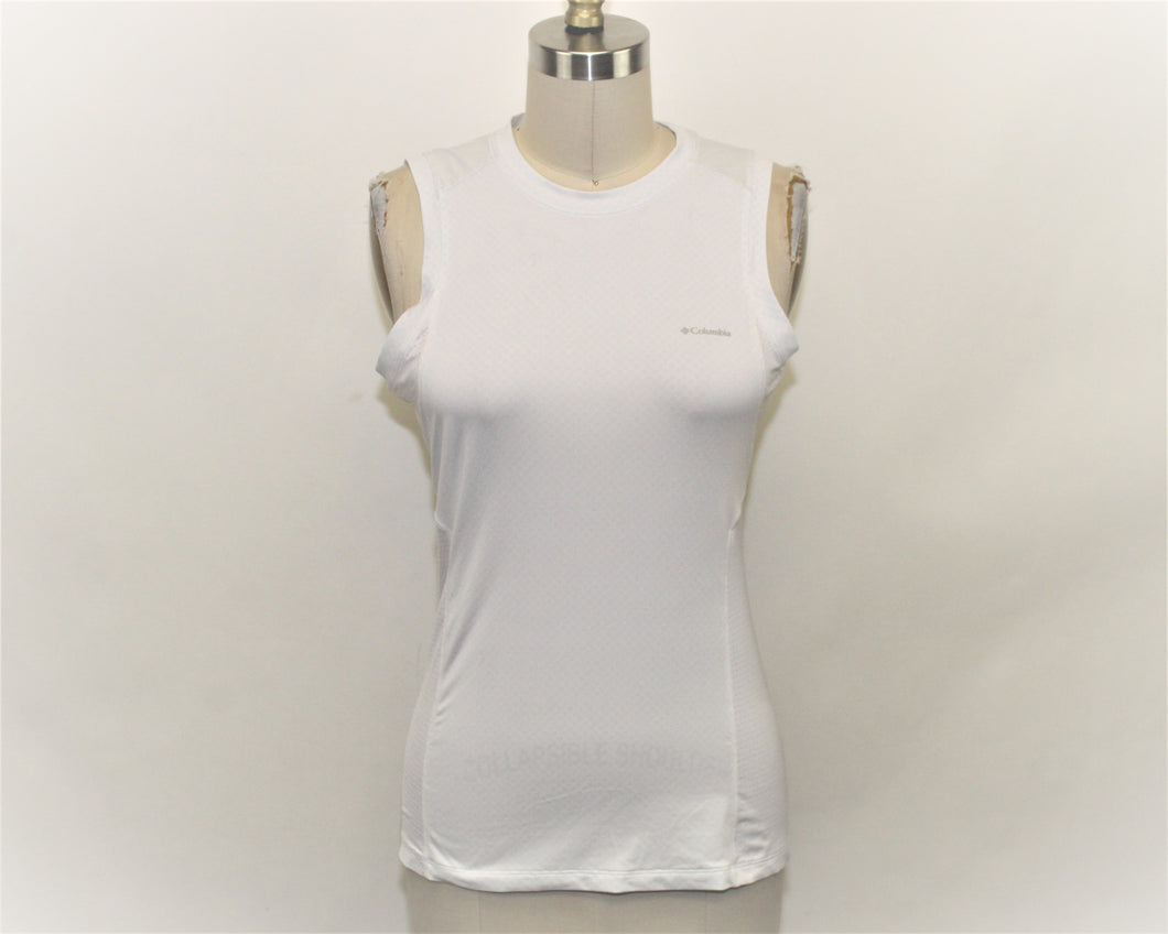 Columbia White Active Top - Size: S