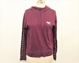 PINK Purple Hoodie - Size: XS