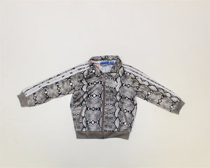 Adidas Animal Printed Track Jacket - Size: 24M