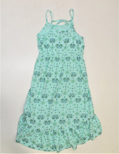 Juicy Couture Mint Printed Dress - Size: L/10-12