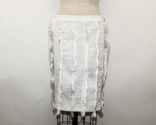 Load image into Gallery viewer, English Factory White Skirt - Size: M