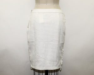 English Factory White Skirt - Size: M