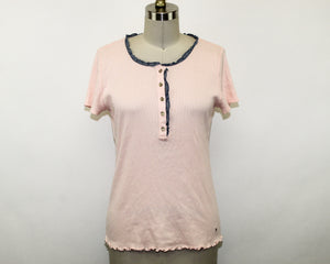 Tommy Hilfiger Pink Top - Size: M