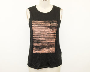Banana Republic Black Top - Size: S