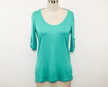 Load image into Gallery viewer, Charlotte Russe Green Blouse - Size: M