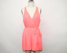 Load image into Gallery viewer, Express Coral Romper - Size: 12