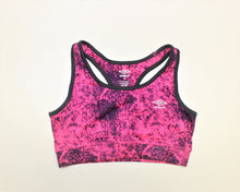 Load image into Gallery viewer, Umbro Pink and Purple Active Bra - Size: S