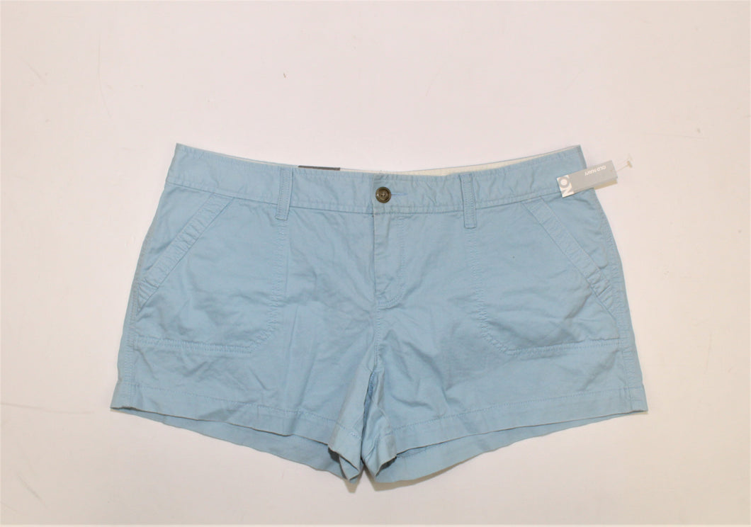 Old Navy Blue Low Rise Shorts - Size: 14
