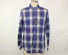 Load image into Gallery viewer, Nautica Blue Plaid Shirt - Size: M