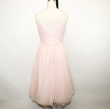 Load image into Gallery viewer, David's Bridal Pink Dress - Size: 6