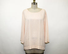 Load image into Gallery viewer, Dalia Nude Polka-Dots Blouse - Size: XL