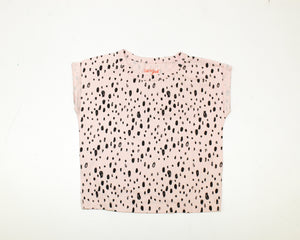 Cat & Jack Pink Printed Top - Size: 3T