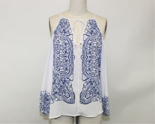 Load image into Gallery viewer, Guess White Open Shoulder Blouse - Size: M