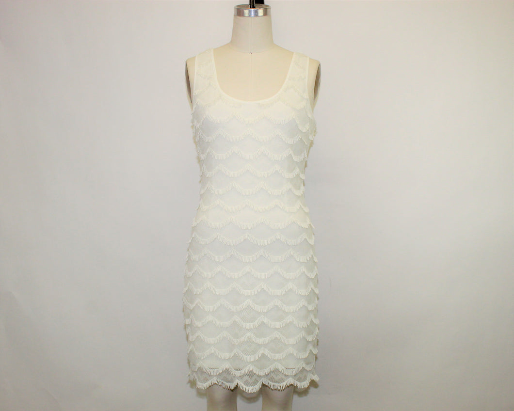 Guess White Classic Dress - Size: 8