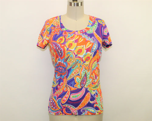 Lauren Ralph Lauren Multi-Color Top - Size: S