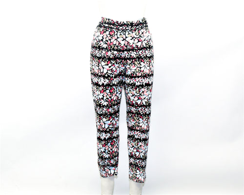 Used Anne Klein Multi-color Floral Pants - size 10