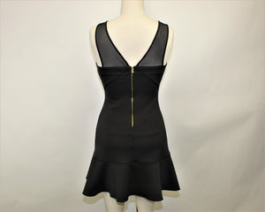 Guess Black Mini Dress - Size: 6