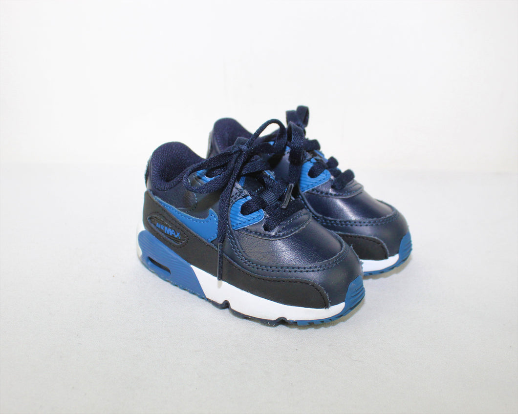 Nike Air Max 90 Leather Sneakers - Size 5C