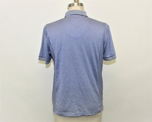 HUGO BOSS Blue Modern Fit Polo Shirt - Size L