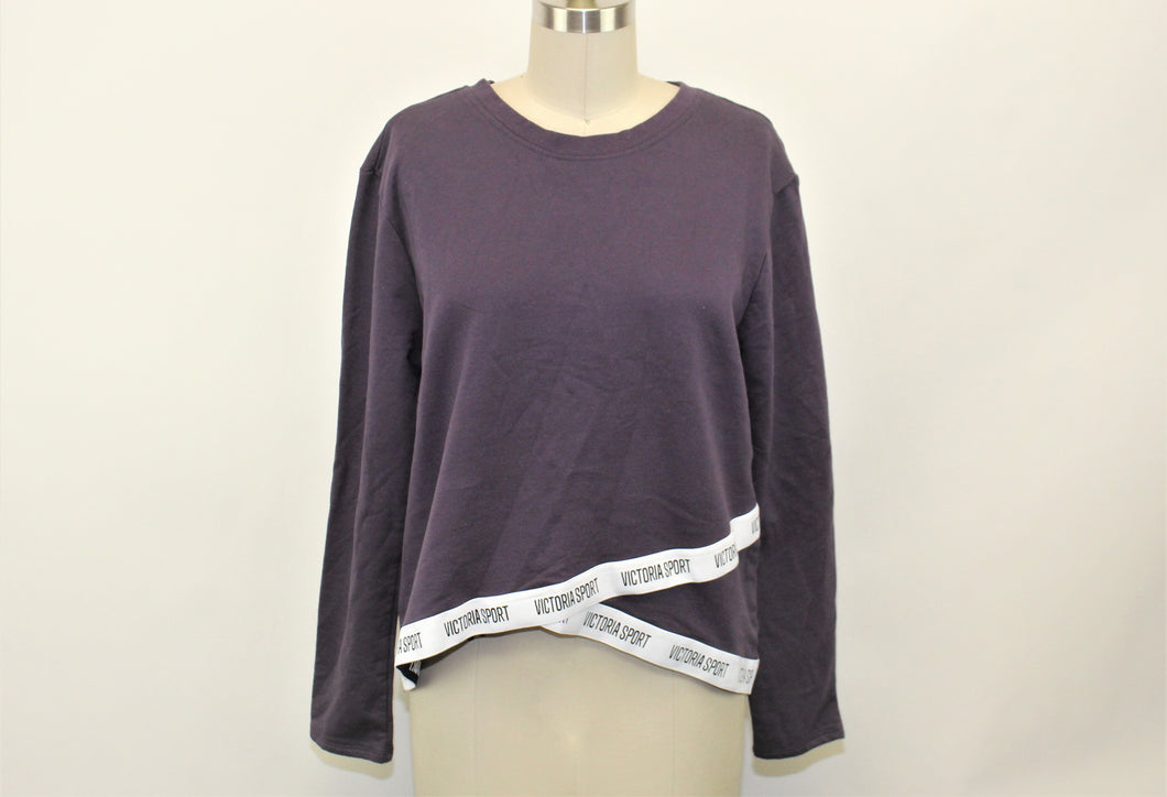 Victoria's Secret Purple Pullover Sweatshirt - Size: M