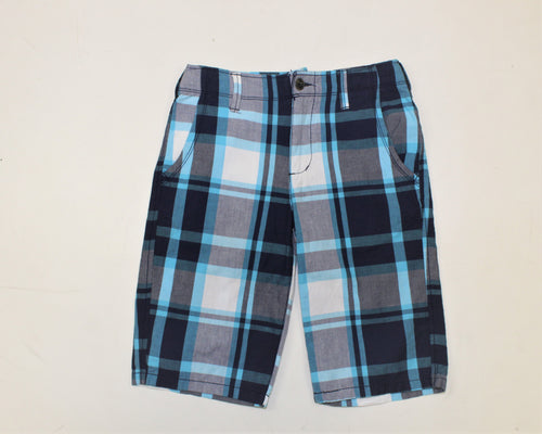 Arizona Jean Company Blue Plaid Shorts - Size: 14