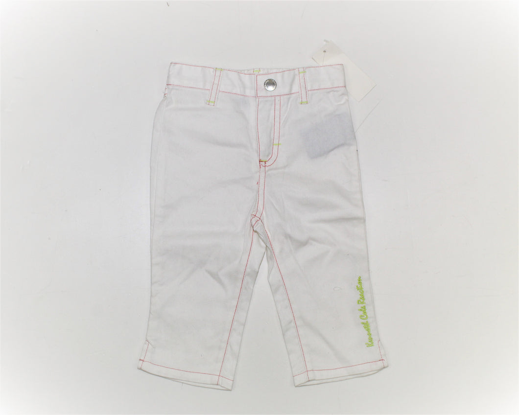 Kenneth Cole Reaction White Jeans - Size: 18M