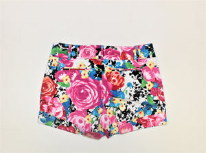 New York & Company Multi-Color Printed Shorts - Size: 6