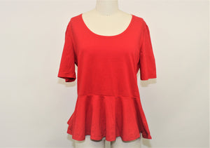 Fifth Parallel Threads Red Top - Size: 2XL