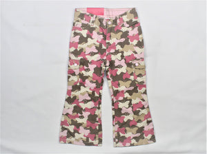 Carter's Multi-Color Butterfly Print Long Pants - Size: 3T