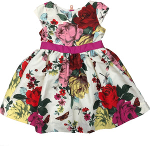 Baker by Ted Baker Floral Dress - Size: 4Y