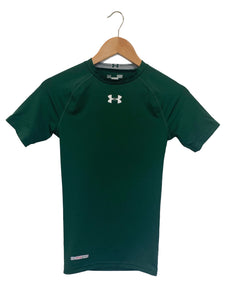 Under Armour Green Compression Top - Size: S