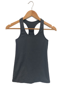 Lululemon Dark Gray Racerback Active Top - Size: XS