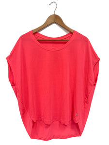 Old Navy Neon Pink Active Top - Size: L