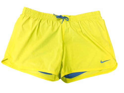 Nike Lime Running Shorts - Size: L