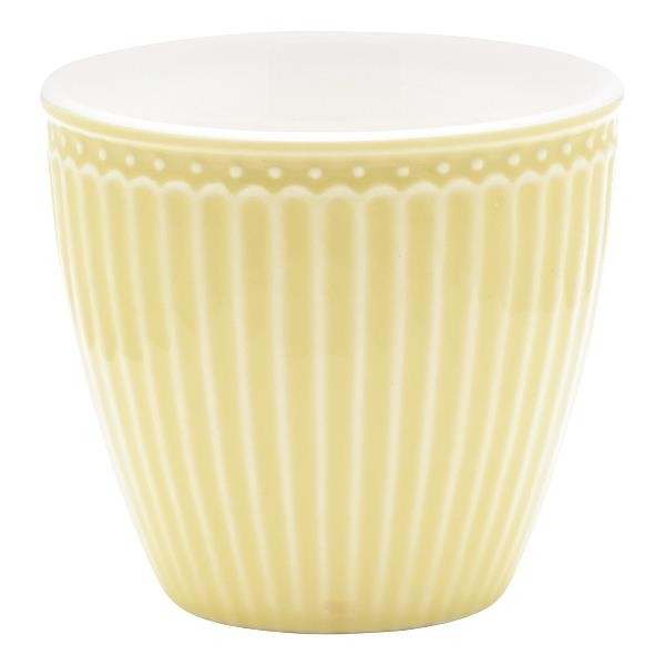 Alice Pale Yellow, Lattekopp - Greengate